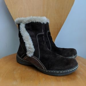 Baretraps 10M Ellea Chocolate Brown Suede Boots